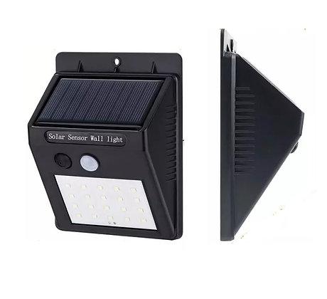 Arandela Solar 20 LED IP65 Parede Com Sensor de Movimento Luz solar, luminárias