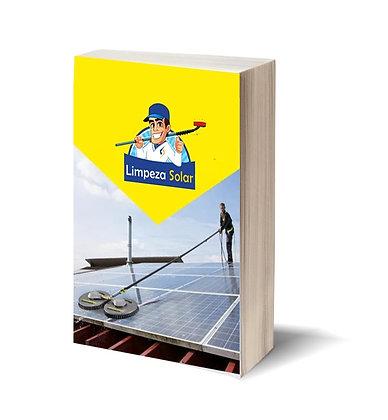 E-book como limpar painéis solares | Aprenda aqui o passo a passo limpeza solar