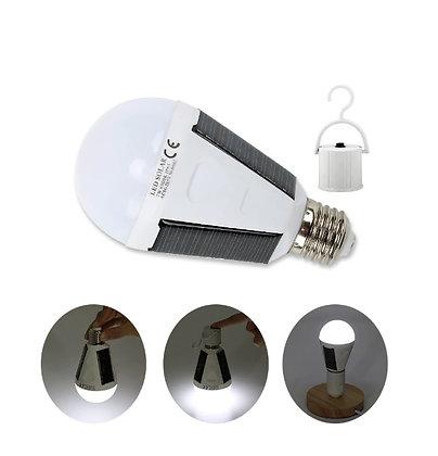 Lâmpada Energia Solar 100% Sustentável Movida a Energia Solar LED 7W e 12W
