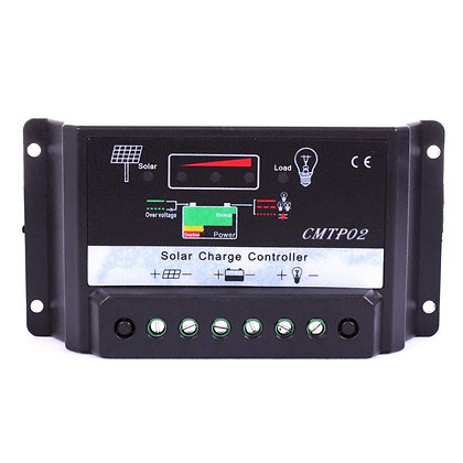 Controlador De Carga Painel Solar 10a-12/24V