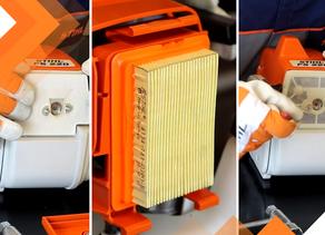 Passo a passo: como limpar o filtro de ar da sua roçadeira STIHL