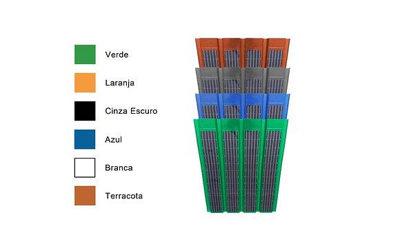Telhas Fotovoltaicas Ecosolaroof SOS Amazônia W230