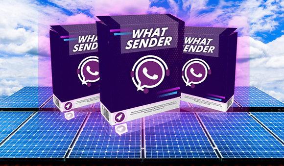 ZapSolar O melhor programa de envios automáticos de 2020 WhatSender Pack 2020
