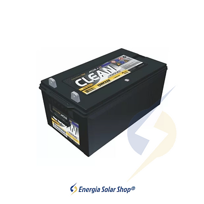 Bateria Estacionária Energia Solar 220Ah Moura Clean