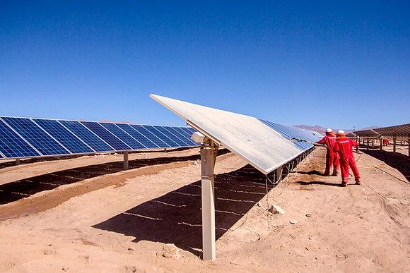 Equip. para Manutenção de Painel Solar Ajustável 2m Escova com Dosador Integrado