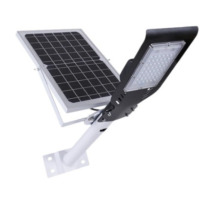 Poste Energia Solar Fotovoltaico 60W, Ótima Luminosidade