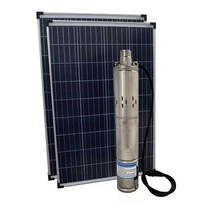 Bomba D'água Solar Fotovoltaica Submersa Poço 50mca Completa