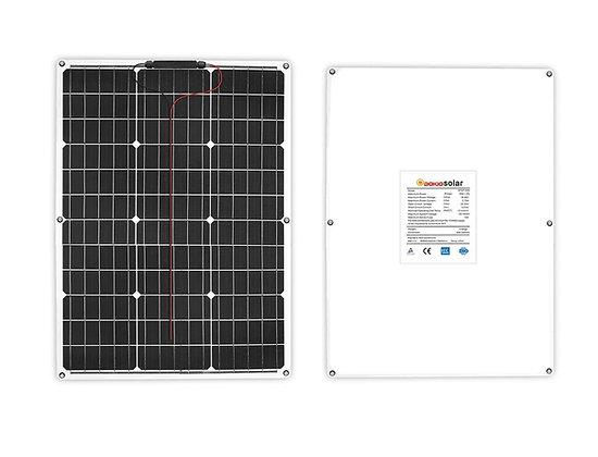 Painel Solar Flexível 50W 18V Monocristalino