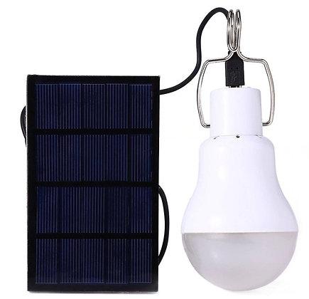 Lâmpada Solar LED 15W Solução inovadora 100% Energia Solar
