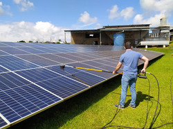 limpeza de painel solar sc brasil