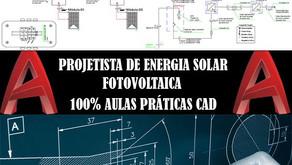 Curso de Projetista de Energia Solar Fotovoltaica Com aulas práticas CAD