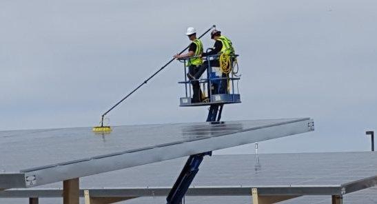 Manutenção de Sistema de Energia Solar