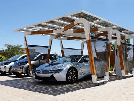 Garagem solar: Gerando menos impacto ao meio ambiente