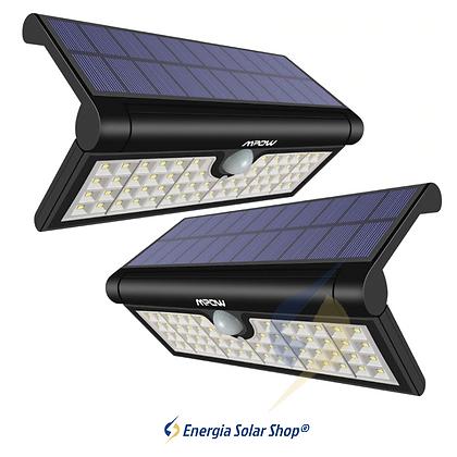 Luz Solar Portátil Dobrável Alto Brilho 120 Iluminação Detecção Automática
