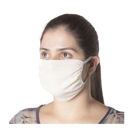 Kit 100 Máscaras Reutilizáveis, Proteção DUPLA, Evita a Propagação Coronavírus