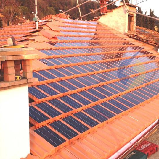 Telha Solar Fotovoltaica