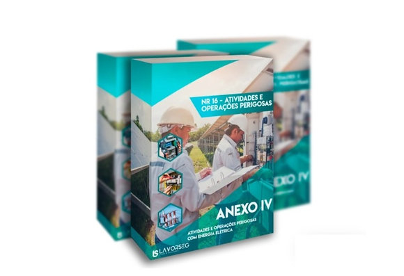 Curso Solar NR 16 Anexo IV Atividades e Operações Perigosas com Energia Elétrica