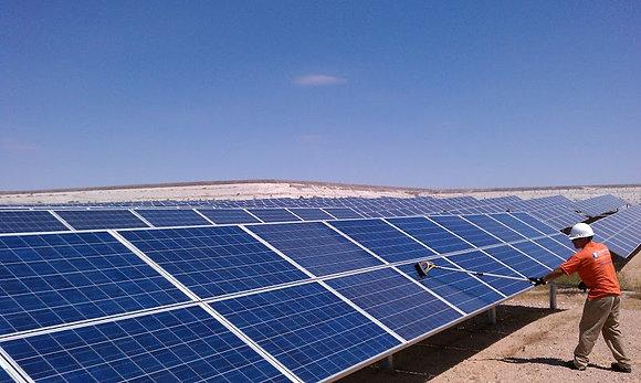 Equipamento para Limpeza de Painel Solar Ajustável 2 m c/ Controle Fluxo Água