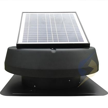 Exaustor Energia Solar 30W 14'' Painel Solar Ajustável