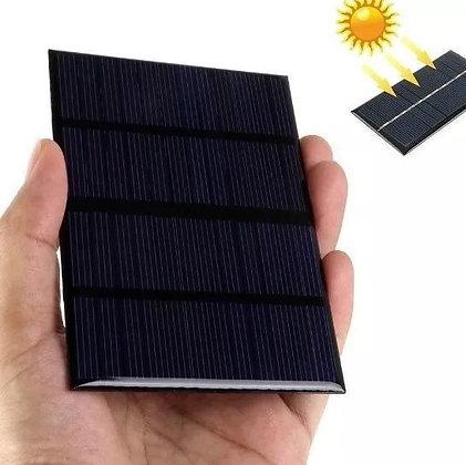 Painel Solar 12v X 1.5w 200ma Célula Alta Qualidade