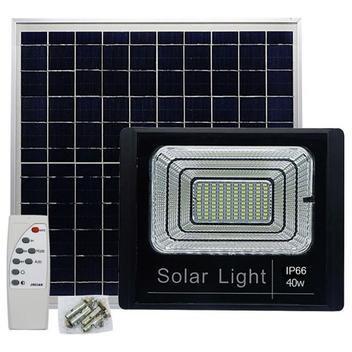 Economia Energia Solar Refletor Energia Solar Placa 40w Sensor Bateria Luminária