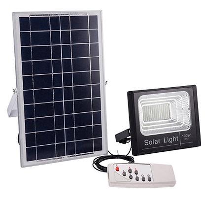 Refletores Solar IP67 100W Impermeável LED Painel Solar Alta Eficiência