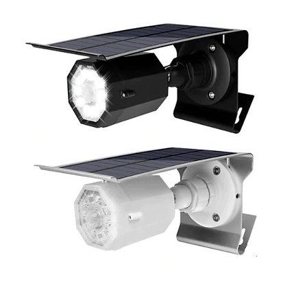 CFTV Energia Solar Câmera de Segurança Luz Solar da Parede Formato