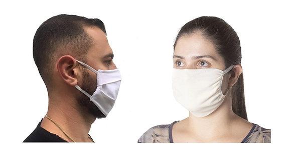Kit 05 Máscaras Reutilizáveis, Proteção DUPLA, Evita a Propagação Coronavírus