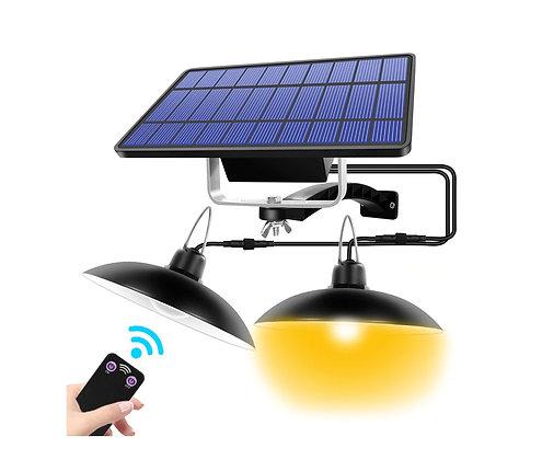 Luminária Energia Solar com 3m Cabo 100lm 3.7 V/2000 mAH