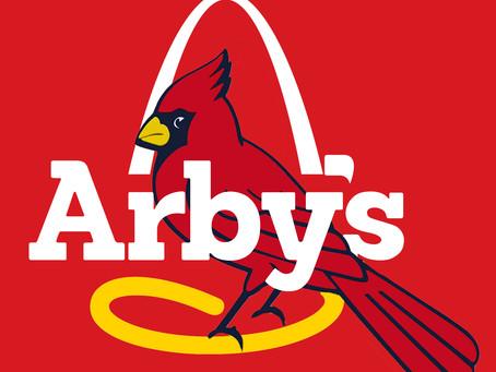 The Cardinals as Arby's Menu Items
