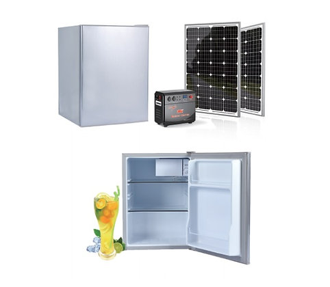 kit energia solar freezer movido a energia solar