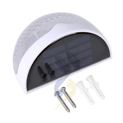 Luz LED Solar Lâmpada de Parede Ao Ar Livre Luz de Segurança Semi Círculo