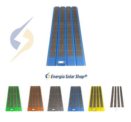 Telha Solar 200W Grafeno Aprovada no INMETRO e no IPT