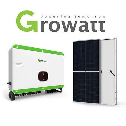 Kit Geração de Energia Solar Fotovoltaica com Potência de 76kWp