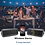 Thumbnail: Caixa de Som Com Painel Solar Portátil Bluetooth 4.2 5000 mAh