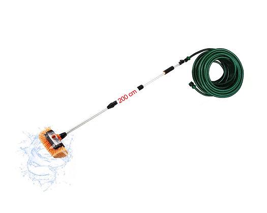 Equip c/ Escova Dosador Integrado c/ Saídas de Água Ajustável 2m + Mangueira 20m
