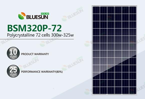 Painel Solar 300W  Policristalino Certificado Inmetro Bluesun