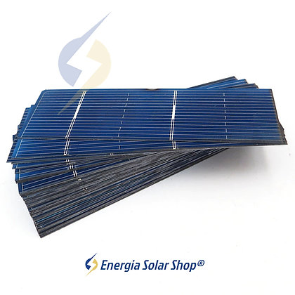 Painel Solar Silício Policristalino DIY 0.5 V 0.37 milímetros W 50 unidades
