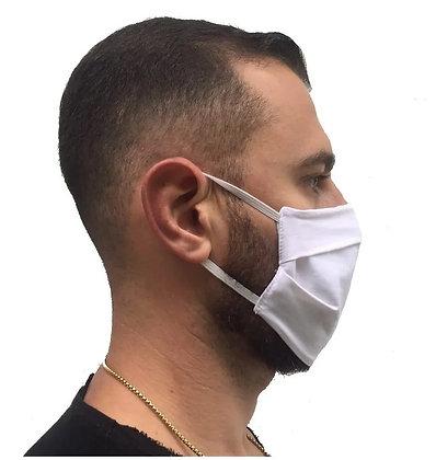 Kit 03 Máscaras Reutilizáveis, Proteção DUPLA, Evita a Propagação Coronavírus