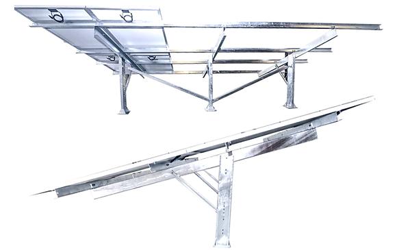 Estrutura Para Painel Solar no Solo Alta Durabilidade de Aço Galvanizado a Fogo