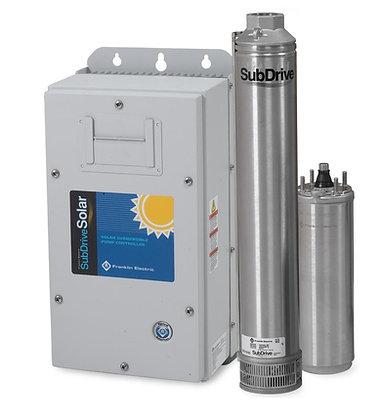 Bomba Submersa Solar Schneider Solarpak Sub100-Sls4e10 3 Cv Sem Painel