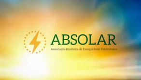"""ABSOLAR lança vídeo """"O SOL NÃO PARA"""""""