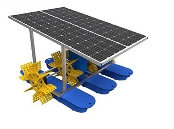 Areador Movido a Energia Solar Fotovoltaico 500 W Areador Solar