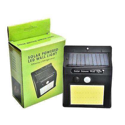 Arandela 48 LED Iluminação Refletor Energia Solar à prova d'água