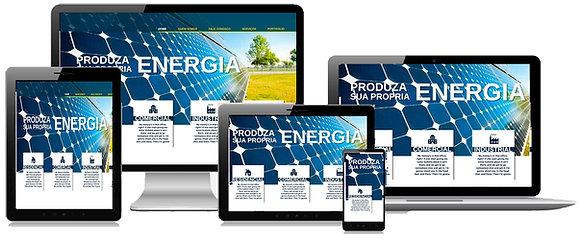 Criação Site / Loja Virtual Energia Solar Tenha Uma Forte Presença Online