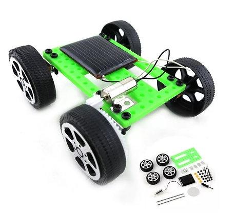 Carrinho De Montar Movido Energia Solar Brinquedo Educativo