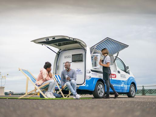 Carro elétrico de sorvete com Energia Solar é projetado pela Nissan