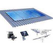 Estrutura paineis solares fotovoltaicos.