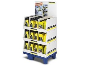 Produtos de limpeza para lavadoras de alta pressão