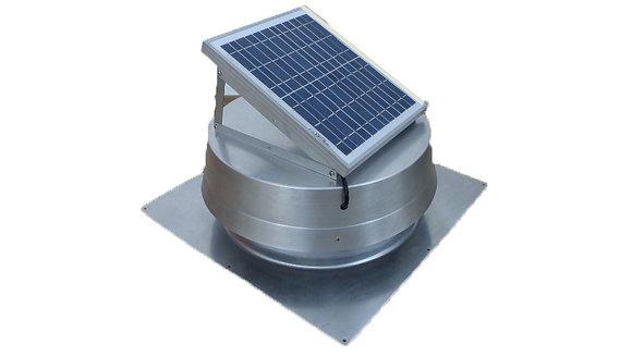 Exaustor Solar Ventilador de Exaustão Solar 10W 850cfm Galpão Industrial